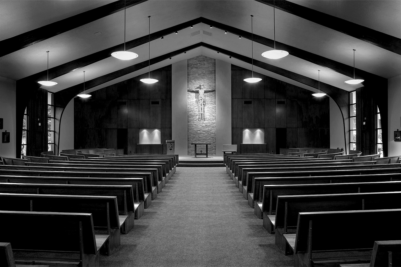 Redwood City complete church renovation including architectural design and construction.